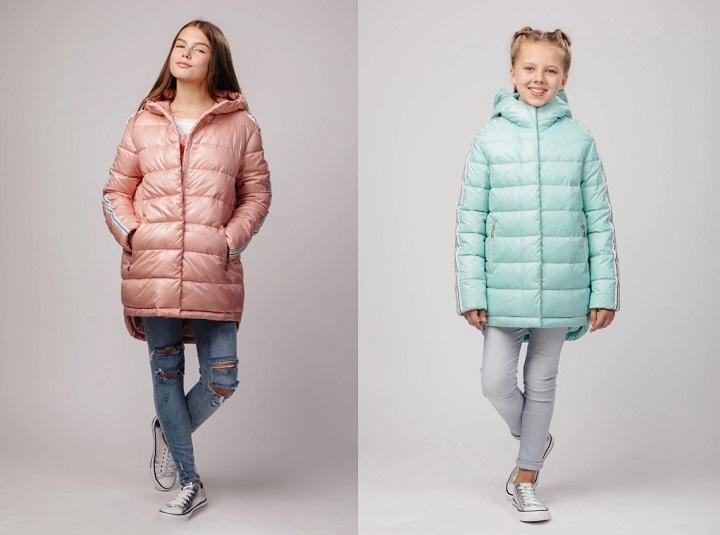 Куртка для девочки gnk С-607 фото