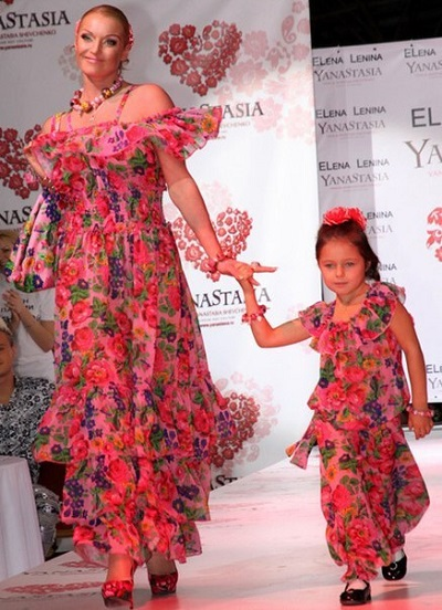 Анастасия Волочкова и её дочь Ариадна фото