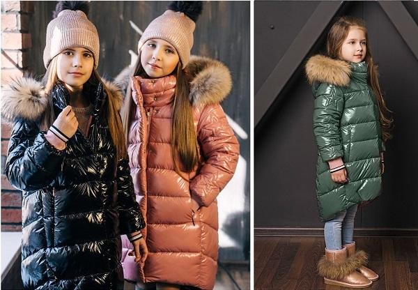 пальто для девочки ЗС-818 фото