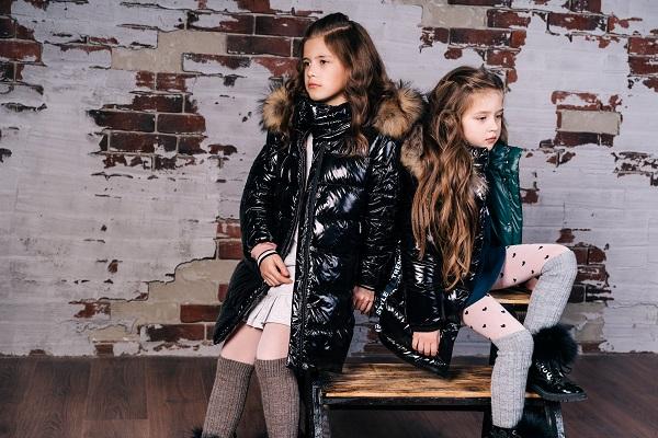зимние пальто для девочек фото