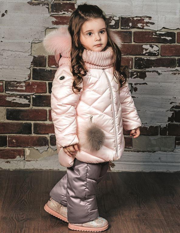детский зимний костюм со снудом gnk фото