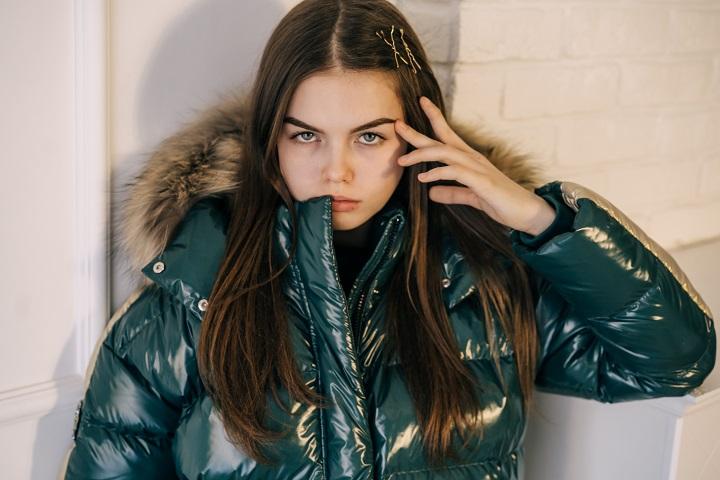 Пальто для девочки З-840 фото