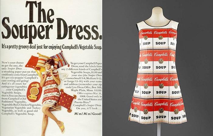платье Уорхола фото