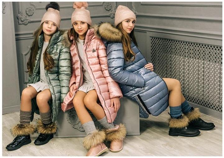 Пальто ЗС-821 для девочек фото