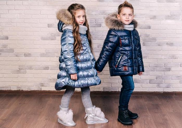 детская зимняя одежда gnk фото