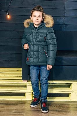 зимняя куртка для мальчика gnk ЗС-830 фото