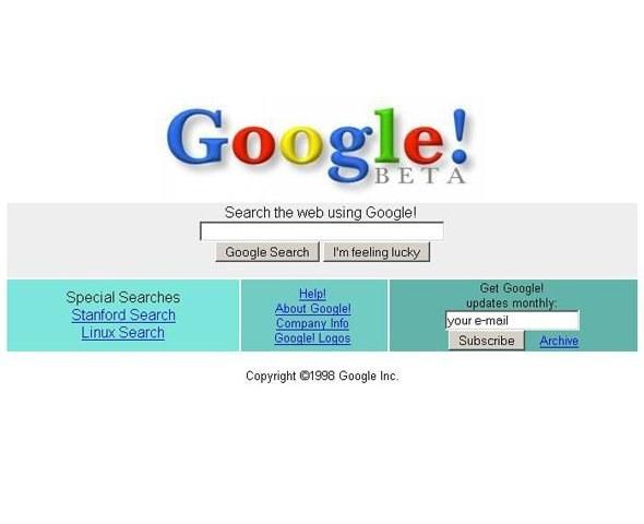 Гугл в 2004 году фото