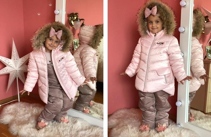 зимний костюм на девочку ЗС-803/ЗС-804 фото