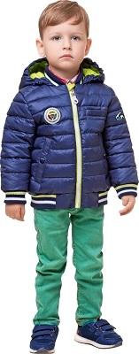 синяя куртка для мальчика