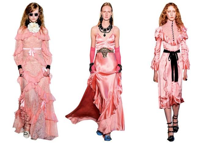 Gucci розовый фото