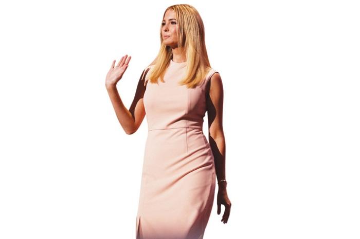 Иванка Трамп в розовом фото