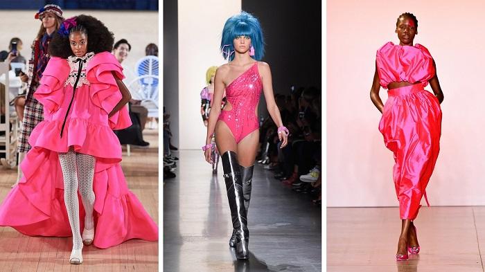 розовый в моде фото