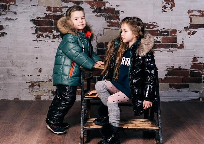 детская зимняя одежда gnk 2019 фото