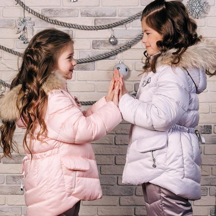 девочки в детских зимних костюмах gnk фото