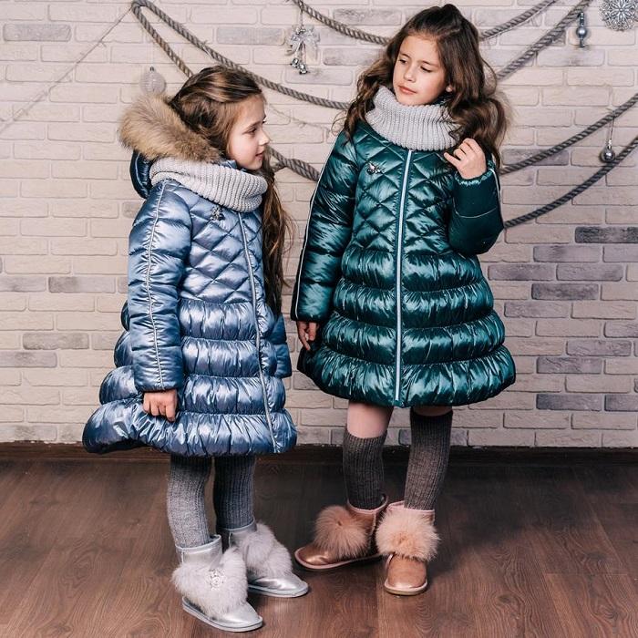 зимние пальто для девочек gnk фото
