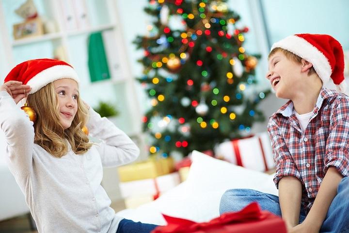 дети в новый год фото