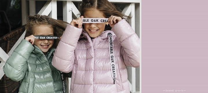 детская весенняя коллекция gnk 2020