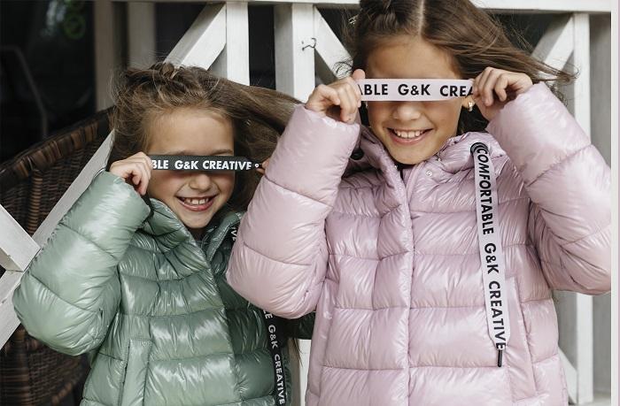 куртки для девочек демисезонные с-667 gnk