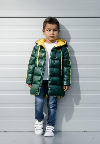 Куртка для мальчика С-670 зеленая