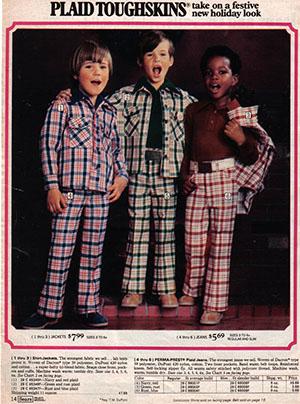 детская мода 1970х