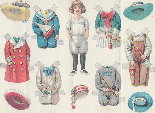 Infants' and Children's Wear Review («Обзор детской и младенческой моды») от 1910 года