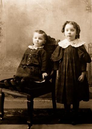 мода для детей 20 век