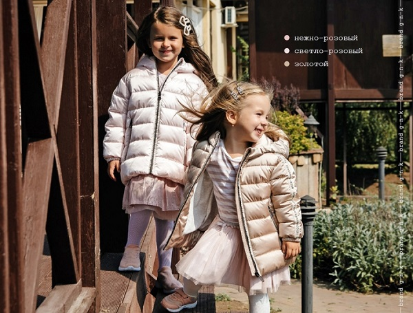 куртки для девочек gnk