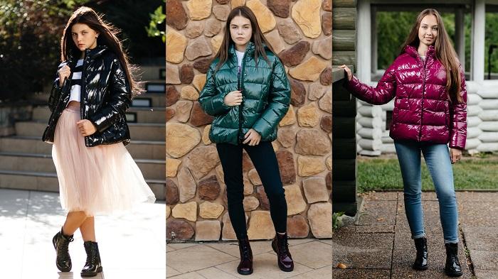детские куртки для девочек gnk