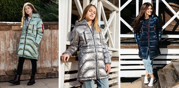 демисезонное пальто для девочки с-697