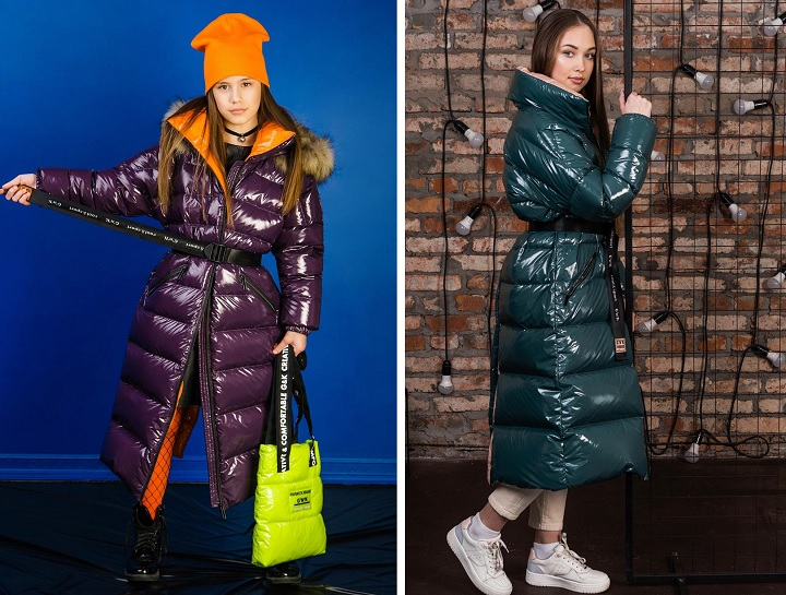 длинные зимние пальто для девочек