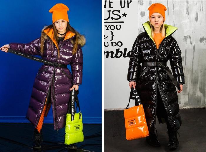 Пальто для девочки З-879