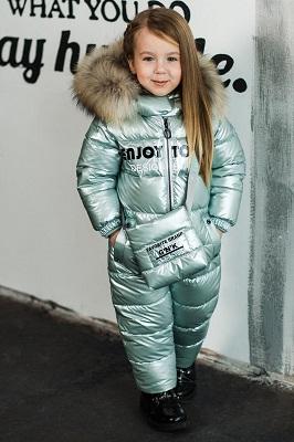 Зимний комбинезон для девочки ЗС-897