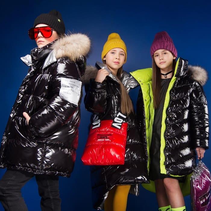 зимние пальто для девочек gnk