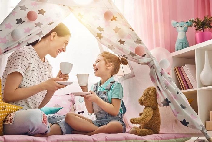 чаепитие кукольное с детьми