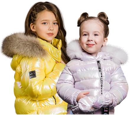 зимняя одежда для девочек gnk