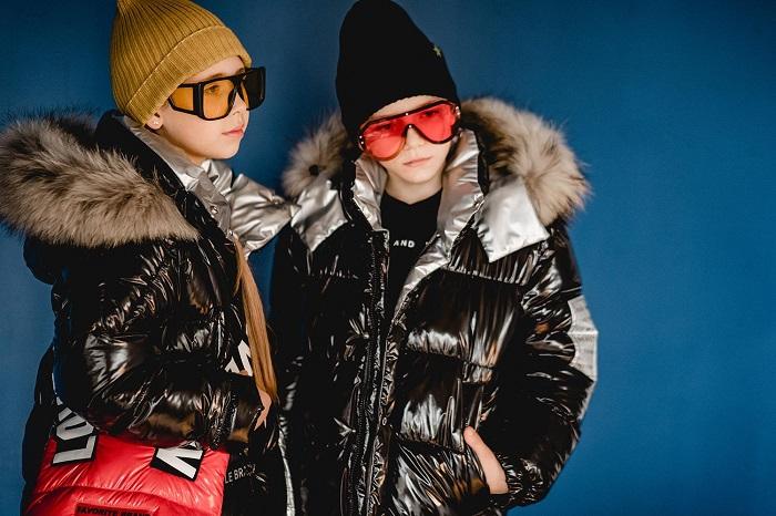 пуховики для девочек gnk зима