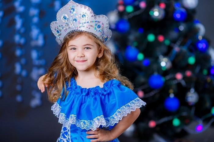 принцесса на новогоднем утреннике
