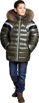 Куртка зимняя для мальчика З-788
