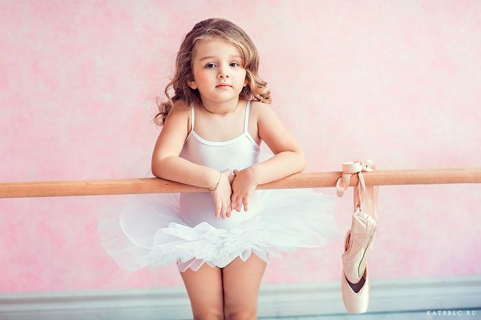 девочка на балете