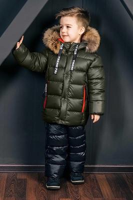 зимний костюм для мальчика ЗС-807/ЗС-808