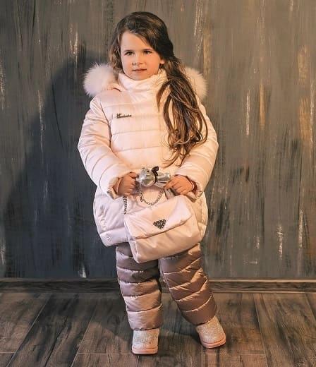 детский зимний костюм для девочки З-793/ЗС-794 фото