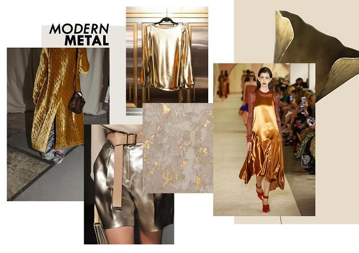 металл в модной одежде фото