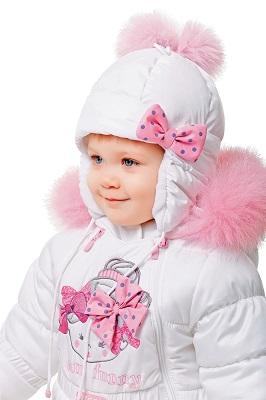 шапка ушанка для девочки