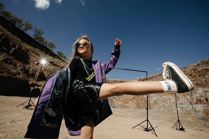 одежда для девочки gnk весна 2021