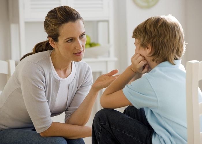 разговор сына с мамой
