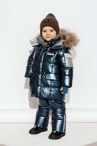 зимний костюм для мальчика gnk