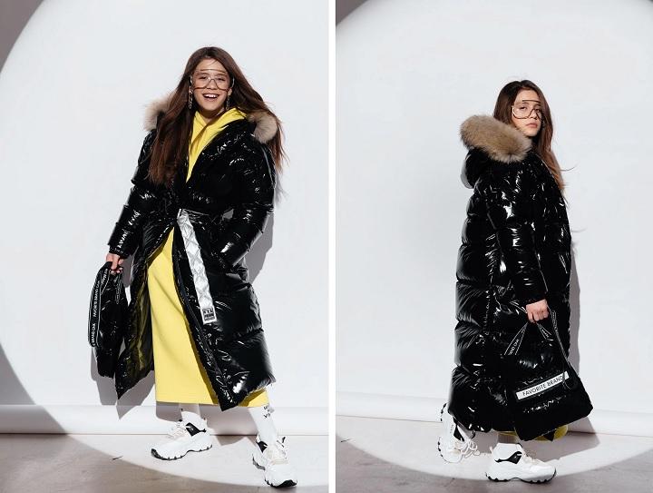зимнее пальто для девочки gnk