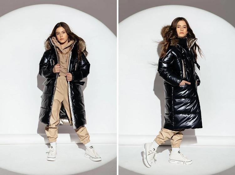 пальто для девочки-подростка G'n'K ЗС-927